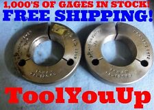 2 5/16 16 UNJS BEFORE PLATE THREAD RING GAGES 2.3125 P.D.'S = 2.2709 & 2.2672