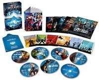 Marvel Studios Cinematic Universe Phase 1 Collector's Ed. [Blu-ray Box Set] NEW