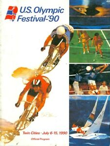 1990 U.S, Olympic Festival Official Program - Twin Cities