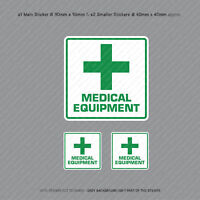Medical Equipment Vehicle Car Bus Cab Taxi Ambulance Sticker - SKU3153