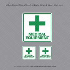 Medical Equipment Vehicle Car Bus Cab Taxi Ambulance Sticker - SKU3153