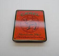 Camel Mandarin Mint Blend of Menthol And Citrus  Metal Cigarette Tin R17118