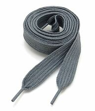 """5 PAIRS THICK SHOELACES SHOE LACES  3/4"""" Wide, 52"""" Long, Ship Fast With Tracking"""