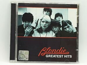 Blondie - Greatest Hits CD Album - Rapture/Heart Of Glass/The Tide Is High
