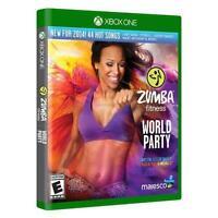 BRAND NEW SEALED Zumba Fitness World Party (Microsoft Xbox One, 2013)