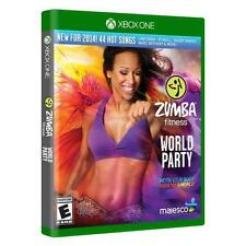 Zumba Fitness World Party (Xbox One) Brand New sealed ships NEXT DAY W CASE