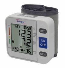 Jumper JPD-900W Pocket Wrist Cuff Blood Pressure Monitor Meter 90 Memory Recall