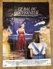 AFFICHE DE CINEMA 120 PAR 160 CM : LE BAL DU GOUVERNEUR @ MARIE FRANCE PISIER @