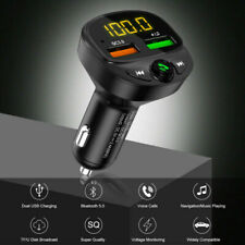 Car Wireless Bluetooth Fm Transmitter Lcd Mp3 Player Usb Charger Car Accessories