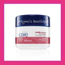 1ère crème anti-âge pour peaux matures Avon Care Youth Restore au collagène