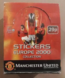 Like PANINI STICKER FUTERA Manchester United Europe 2000 Box