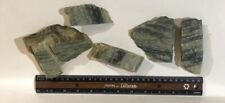 Lot Of 5 Green Marble slabs 650 Grams rough- cabbing- NEW MATERIAL
