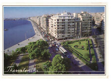 Thessaloniki, Greece: View From The Top White Tower Rare Picture Postcard Posted