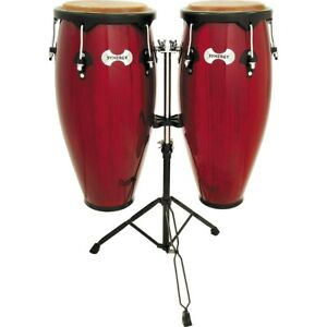 Toca Synergy Conga Set with Stand Red
