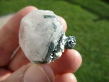 morganite with indicolite, Dara-i-Pech, Kunar Province, Afghanistan