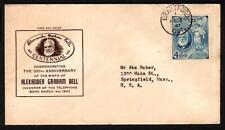 Canada #274 Alexander Graham Bell March 3 1947 Brantford, Printed Cachet