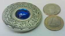 ☆☆ Pocket of Gems geocoin 3D Blue Unactivated trackable Jewel