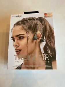 Aftershokz AIR wireless bone conduction headphonesAS650 Forest Green New in Box
