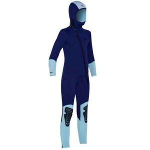 Subea Tauchanzug Neoprenanzug 5mm für Kinder Gr. 140 mit Haube blau warm