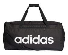 37368a0521 Adidas Linear Core Medium Duffle Bag - Black Black White