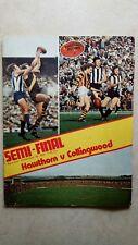 1974 Semi Final Football Record - Hawthorn vs Collingwood - MCG