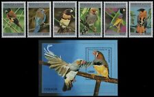 Guinea 1996 - Mi-Nr. 1589-1594 & Block 502 ** - MNH - Vögel / BIrds