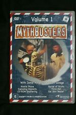 Mythbusters : Volume 1 (DVD, 2005) R 4   Pre-owned (D509
