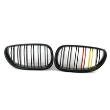 Kidney Grilles Fit For BMW E60 E61 M5 5 Series 03-09 Front Gloss Red Yellow Top