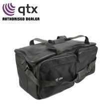 QTX Heavy Duty Multi-Compartment Accessory Lighting Padded Transit Carry Bag