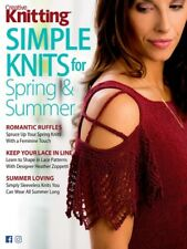 Creative Knitting Simple Knits for Spring and Summer April 2018