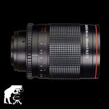 Dörr Danubia Spiegel Teleobjektiv 500mm/8 T2 für MFT Olympus/Panasonic +Skylight