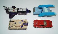 Lot of 4 Astrotrain Blitzwing Overdrive Blurr --- 1985 G1 Transformers Hasbro
