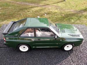 Audi sport quatro version civile echelle 1/18eme neuve longueur 22cm Norev