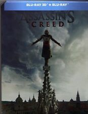 Assassin's Creed Steelbook 3D + 2D Limited Edition Blu-ray