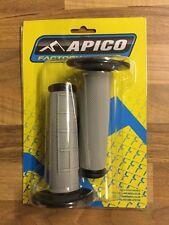 APICO BLACK QUALITY HANDLE BAR GRIPS MOTOCROSS PIT BIKE ETC