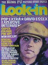Look-In Magazine 22ND Juin 1974 - David Essex