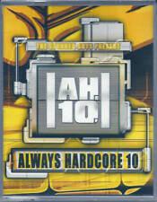 Always Hardcore 10 (2002) Doppia Musicassetta NUOVA SIGILLATA Neophyte Buzz Fuzz