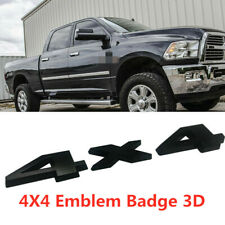 For 2018-2019 Dodge Ram 1500 2500 3500 Black Matte 4x4 Decal Sticker Mopar New