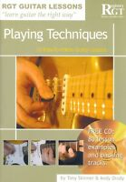 RGT GUITAR LESSONS Playing Techniques Book & CD