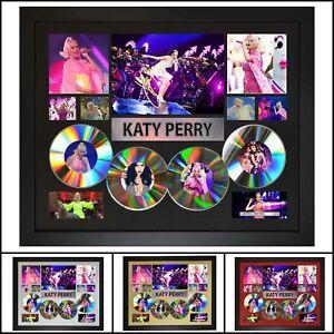 Katy Perry 4CD Signed Framed Memorabilia Limited Ed - Multiple Variations