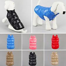 Manteau pour chien Doudoune gilet PET VÊTEMENTS hiver Chiot Costume