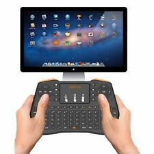Mini Bluetooth Wireless Keyboard Touchpad Mouse For Macbook Laptop Tablet Projec