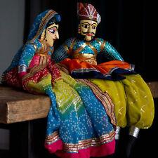 Large Rajasthani Puppets