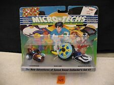 MICRO-TECHS Speed Racer Collector's Set #7 No. 55207 New 1994 Ace Novelty