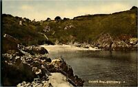 Vintage collection of 4 printed postcards landscape views of Guernsey