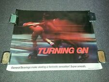 vintage General Bearings promo poster Roller Skate related