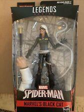 New Marvel Legends Spider-man Black Cat Figure BAF Marvel's Kingpin
