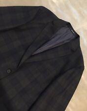 NWOT Z-Zegna Drop 8 Deco 100% Wool Very Slim Fit Blazer Plaid 54R 44R 42R $1295