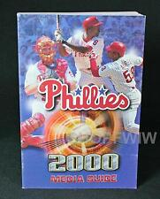 Philadelphia Phillies 2000 Media Guide