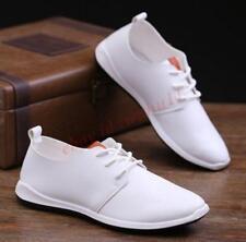 Breathable Men Boy Stylish Korea Dress Lace Up Moccasins Business Leisure Shoes